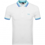 BOSS Athleisure Paddy 1 Polo T Shirt White